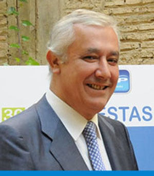 Javier Arenas, candidato del PP.