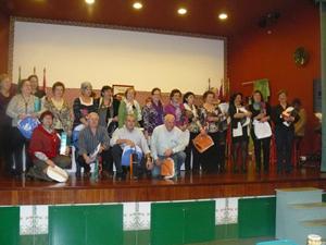 Los participantes en el concurso.