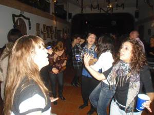 Muchos jóvenes disfrutaron de la celebración.