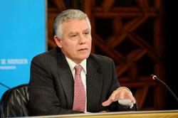 Francisco Menacho presentó un informe ante el Consejo de Gobierno.