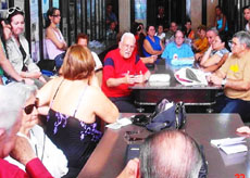 Un momento de la asamblea de socios de 'Ferrol y su Comarca'.