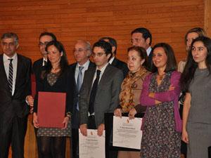 María de Diego recogió el premio.