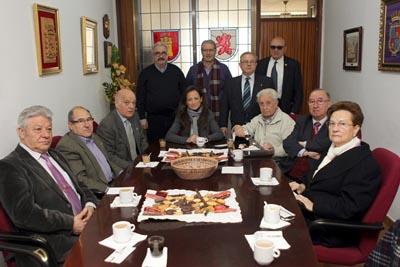 De Diego visitó la Federación de Sociedades Castellanas y Leonesas en Cataluña.