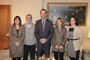 Estarellas, Fortuny, José Ramón Bauzá, Roselló y Mª José Bauzá.