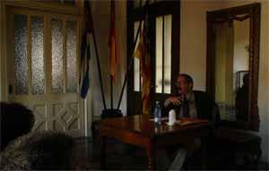 La segunda conferencia en el Centro.
