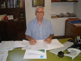 José Manuel Sánchez Naveros tiene una larga trayectoria como directivo en la colectividad.