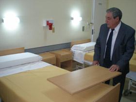 El presidente del Centro Gallego, Carlos Vello, expresó su deseo de llegar a un acuerdo con los médicos.