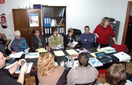 Imagen de una reunión de trabajo de la Feaer.