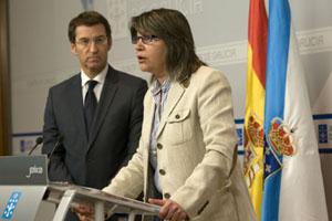 La conselleira de Medio Rural e do Mar, Rosa Quintana, explicó las medidas de la nueva norma.