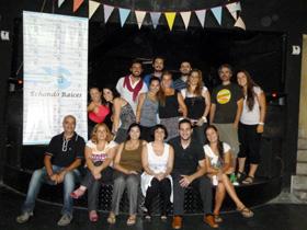 El encuentro contó con la participación de jóvenes de la asociación Cazalla Intercultural de Murcia.