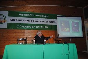 Hubo una conferencia a cargo de Manuel Navas Ortiz.