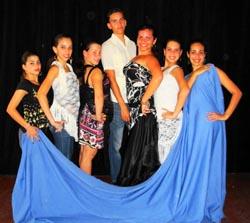 El grupo de baile 'Las Andaluzas'.