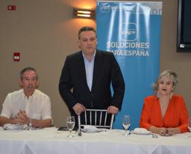 Alfredo Prada en el acto celebrado en Panamá.