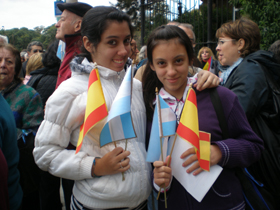 Nietas de emigrantes españoles en Buenos Aires.