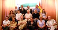 Los reunidos en el plenario.