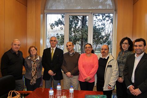 El director de Migraciones, Aurelio Miras Portugal, recibió a los directivos de las federaciones.