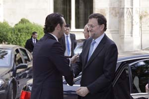 José Ramón Bauzá y Mariano Rajoy.