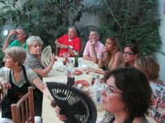 Un momento de la reunión en la Colectividad Valenciana.