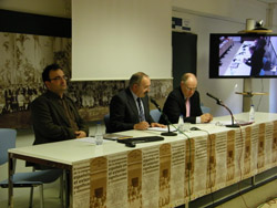 Primera sesión del Congreso sobre asociacionismo celebrado en Zamora.