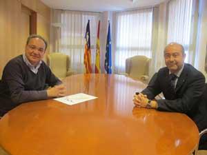 Bennàssar y Gómez, en la reunión.