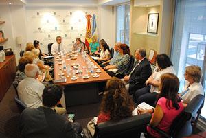 Encuentro informativo celebrado en Buenos Aires.
