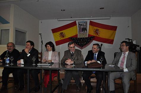 Reunión con los representantes de las entidades españolas en Lausana.
