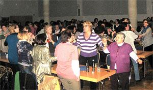 Vista de las participantes en el acto celebrado en la ciudad alemana de Essen.