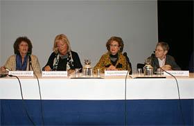 Mesa redonda celebrada en el seminario.