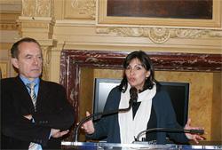 Intervención de Anne Hidalgo en la apertura de la exposición.