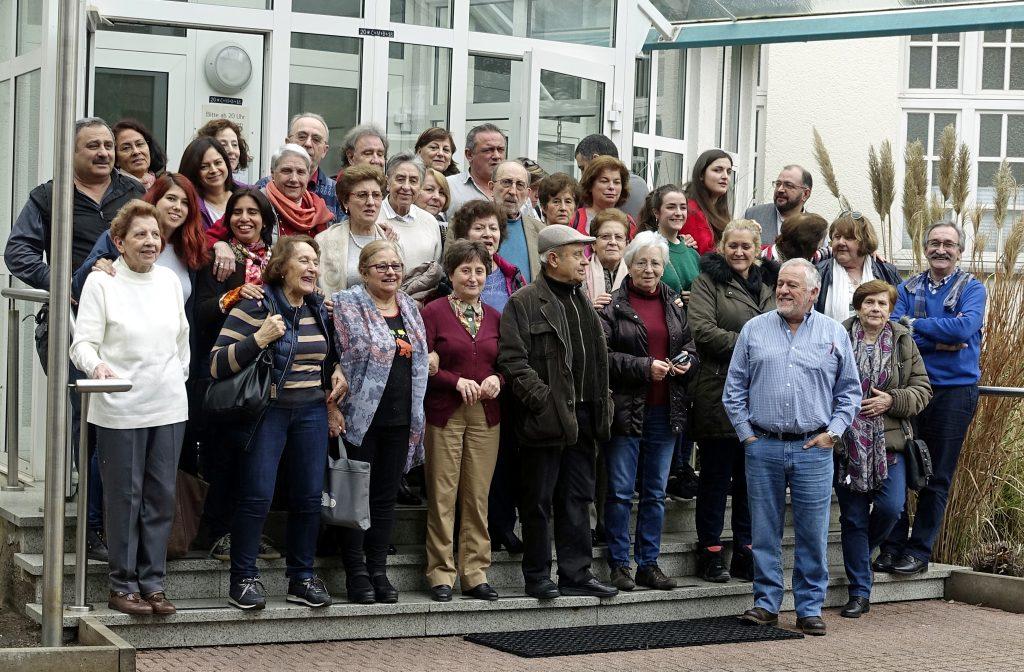 Los participantes en el seminario. FOTO V. OLMOS.