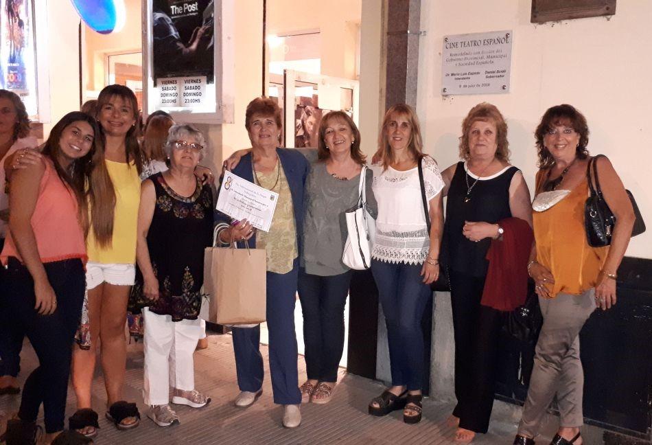 Socias del Centro Castellano y Leonés de Tres Lomas.