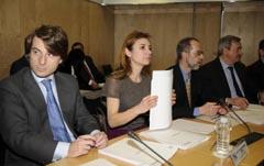 Currás durante la reunión del Consejo de Política Fiscal.