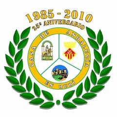 Escudo conmemorativo del 25 aniversario de la entidad.