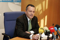 Agustín Hernández durante la presentación del Plan.