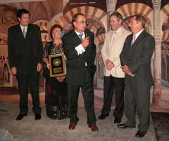 Eloy Pousa, María Alegría Segovia, Juan José Escobar, Carlos Santos y Arturo Pérez.