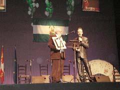 Santi Rodríguez recibe el premio Al-Andalus.