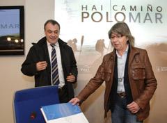 Varela y Quintana durante la presentación de