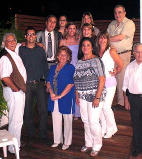Su presidente, Francisco Puebla, y toda la directiva, se reunieron con Victoria Cristóbal en su última visita a Argentina.