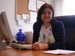 Larisa Castro-Nobile, presidenta del Teléfono de la Esperanza en Suiza.