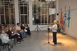Acto celebrado en el Patronato da Cultura Galega de Montevideo.