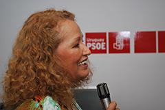 Ivette Almendras pronunció la charla.