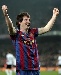 Messi dio una lección de fútbol ante el Valencia. (Foto: EFE)