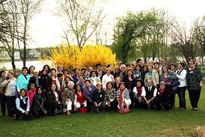Participantes en las jornadas organizadas por la Coordinadora del Movimiento Asociativo en Alemania.