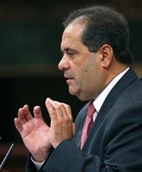 El diputado de Coalición Canaria, José Luis Perestelo.