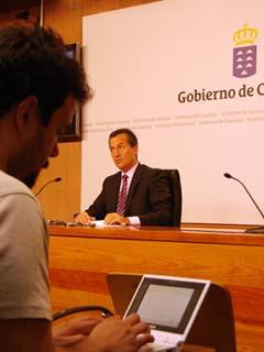 José Miguel Ruano, en una reciente comparecencia pública.