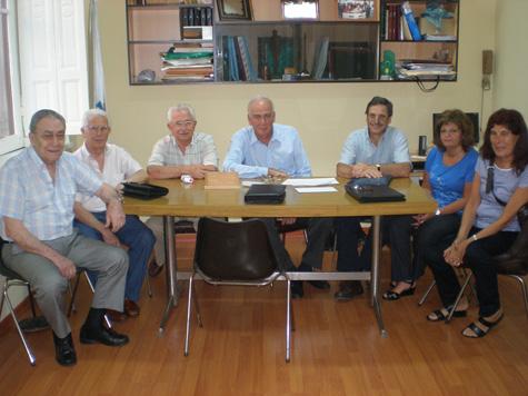 Miembros de la agrupación Unión Gallega, que se opuso desde un primer momento a la gerencia del hospital.