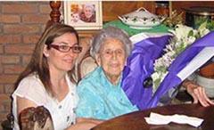 Cati Bauzá y Esperanza Llabrés.
