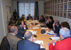 Un momento de la reunión de la Comisión.