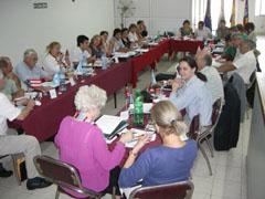 La reunión se celebra en la Casa Balear de Buenos Aires.