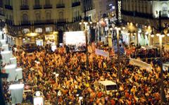Vista de la manifestación de Madrid. (Foto: EFE)